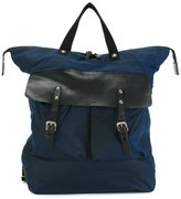 Ally Capellino Igor backpack - men - Cotton/Leather - One Size