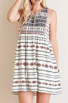 Entro Southwestern Shift Dress