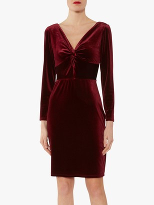 Gina Bacconi Spencer Knot Mini Dress