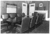 HistoricalFindings Photo: Conference room with table and ten chairs,White House Office,Washington,DC,c1909