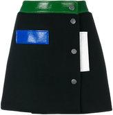 Courreges studded mini skirt