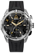 Reebok Impact Chrono Stainless Steel and Silicone Black Strap Watch