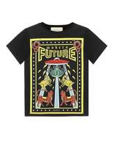 Gucci Modern Future Short-Sleeve T-Shirt, Size 4-12