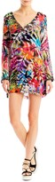Nicole Miller Tropical Palms Tunic