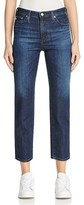 AG Jeans Isabelle Straight Crop Jeans in 7 Years Preen