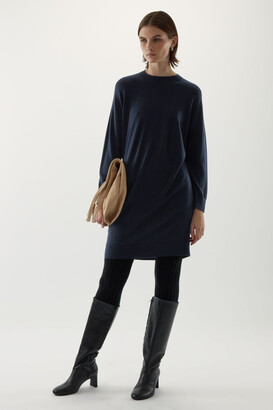 Cos Seamless Merino Wool Dress