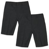 Marks and Spencer 2 Pack Boys' Skinny Leg Shorts
