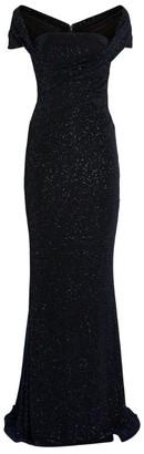 Talbot Runhof Glitter Cocorico Gown