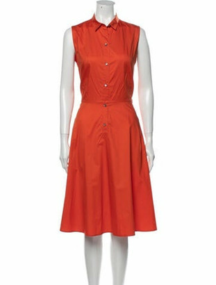 Sofie D'hoore Midi Length Dress Orange