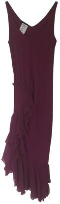 Ungaro Pink Silk Dress for Women