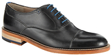Oliver Sweeney Lupton Leather Oxford Lace-up Shoes, Black