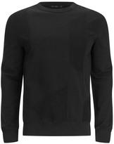 Blk Dnm Patchwork French Terry Sweatshirt Black