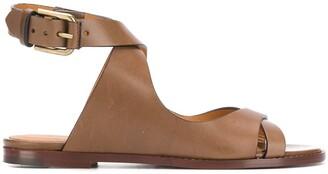 Isabel Marant Jirene cross-strap sandals