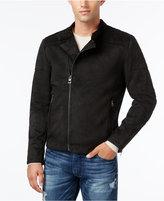 GUESS Men's Cody Faux-Suede Jacket