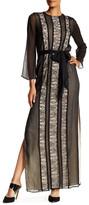 Alice + Olivia Kye Bell Sleeve Maxi Dress