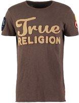True Religion Print Tshirt Brown