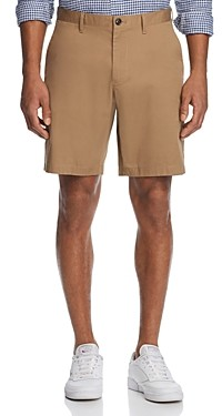 Michael Kors Washed Poplin Classic Fit Shorts