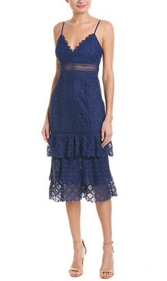 Ever New Lace Midi Dress
