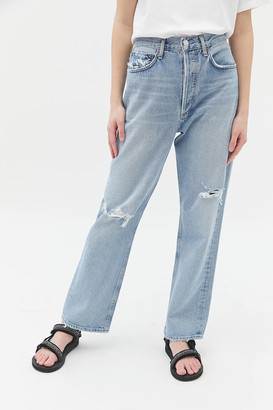 AGOLDE 90s High-Waisted Straight Leg Jean Captured