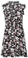 Dorothy Perkins Womens Izabel London Multi Colour Floral Print Tie Waist Dress, Multi Colour