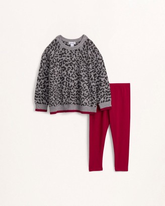 Splendid Toddler Girl Leo Knit Sweater Set