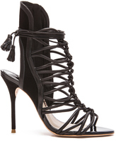 Sophia Webster Lacey Leather Heels