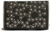 Chelsea28 Embellished Faux Leather Convertible Clutch - Black