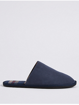 M&S Collection Suedette Mule Slippers with FreshfeetTM