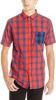 Split Men's Beyer's Short Sleeve Woven Shirt