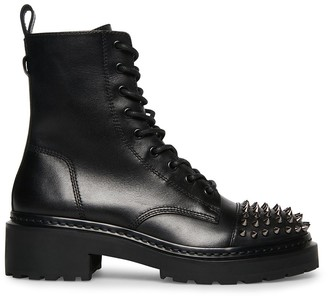 Steve Madden Barbed Black Studs