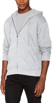 Fruit of the Loom Mens Zip Through Hooded Sweatshirt / Hoodie (L)