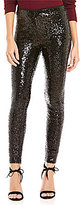 Gianni Bini Fan Fav Tabitha Pull-On Sequin Leggings