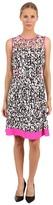 Kate Spade Semma Dress (Bacchus Red/Vivid Snapdragon Billboard Texture) - Apparel
