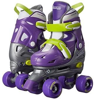 Chicago Skates Adjustable Quad (Toddler/Little Kid/Big Kid) (Purple/Silver) Women's Shoes