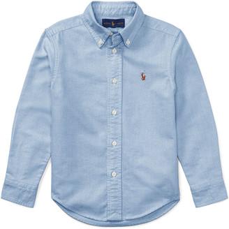 Ralph Lauren Kids Oxford Sport Shirt, Size 4-7
