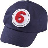 Mud Pie Monthly Milestone Baseball Hat in Navy Blue