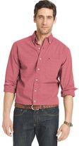 Izod Big & Tall Signature Classic-Fit Poplin Button-Down Shirt