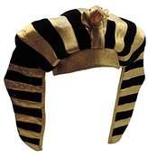 Egyptian Pharaoh King Gold Lamé Headdress Plush Crown