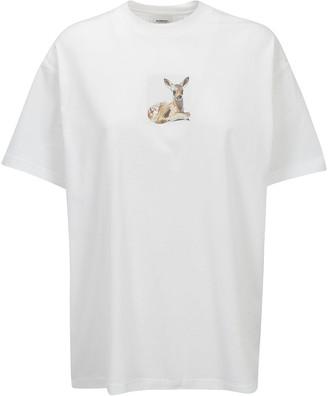 Burberry Deer Print T-Shirt