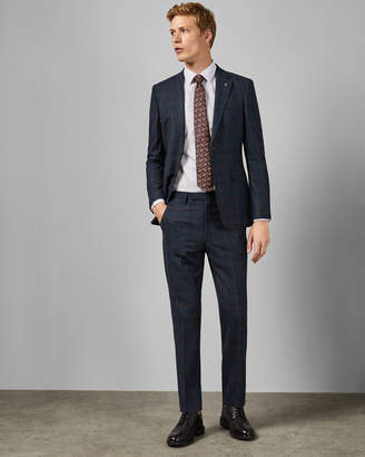 Ted Baker FAIRTO Sterling two-piece checked suit