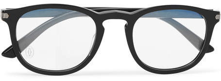 Cartier Eyewear Square-Frame Acetate Optical Glasses