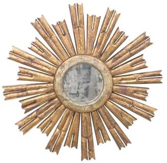 Worlds Away Starburst Antique-Style Mirror