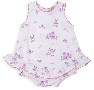 Kissy Kissy Baby Girl's Castle Couture Print Bubble