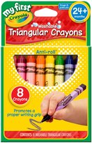 Crayola My First 8ct Washable Triangular Crayons