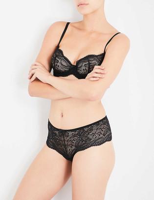 Simone Perele Eden Chic floral-lace half-cup bra