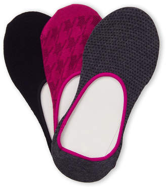 Hue 3-Pack High-Cut Liner Socks