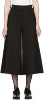 MM6 MAISON MARGIELA Black Wide-leg Trousers