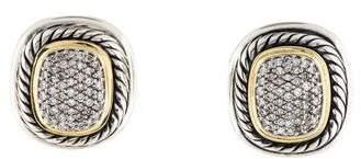 David Yurman Diamond Albion Earrings