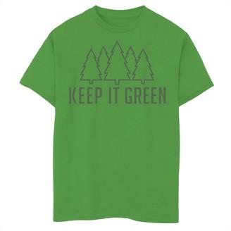 Fifth Sun Boys 8-20 Keep It Green Graphic Tee