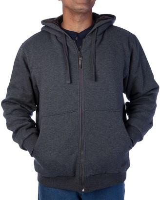 Smiths Workwear Men's Smith's Workwear Sherpa Lined Fleece Jacket
